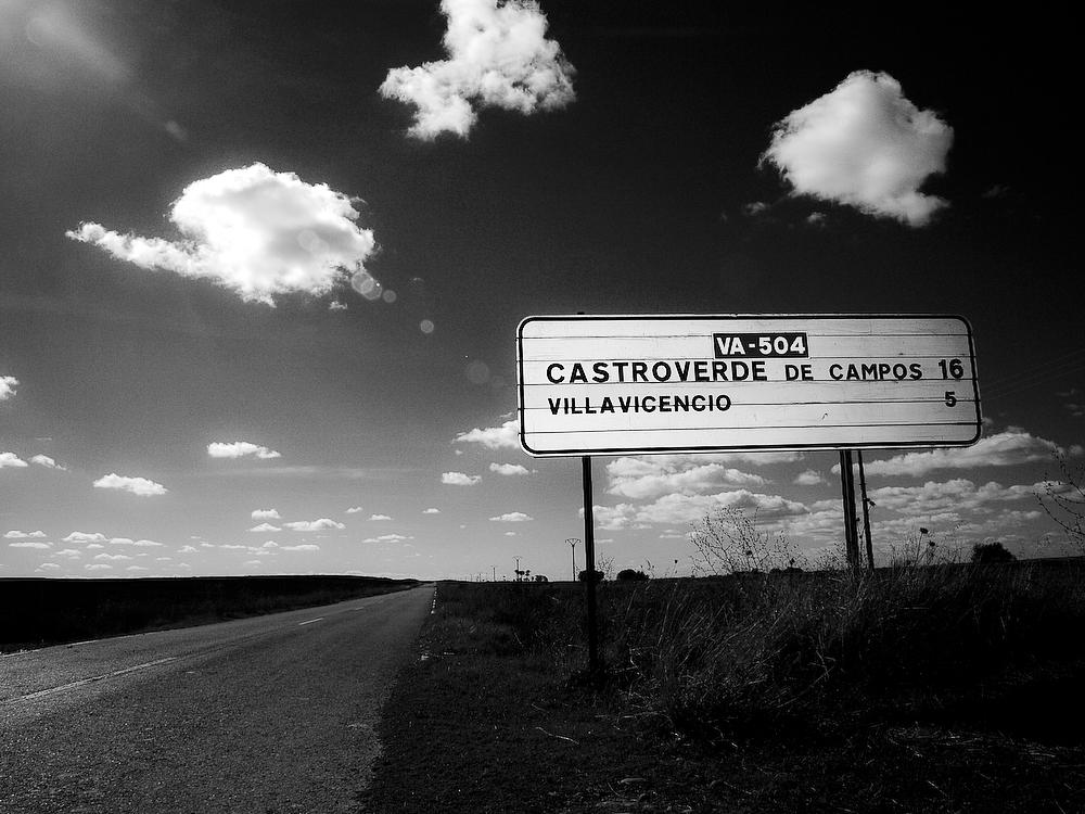 Photo in Landscape #spain #countryside #clouds #road #landscape