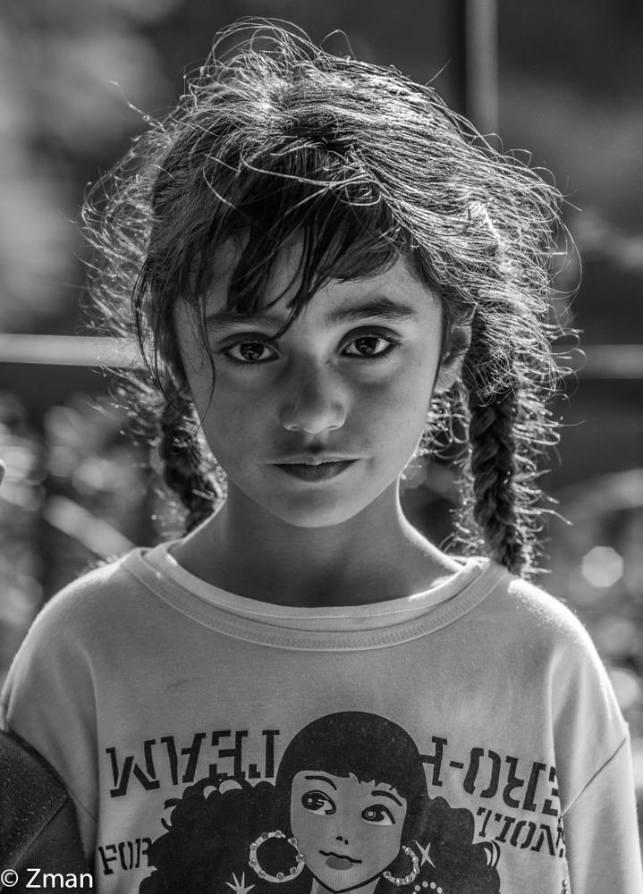 Photo in Black and White #girls #portrait #south