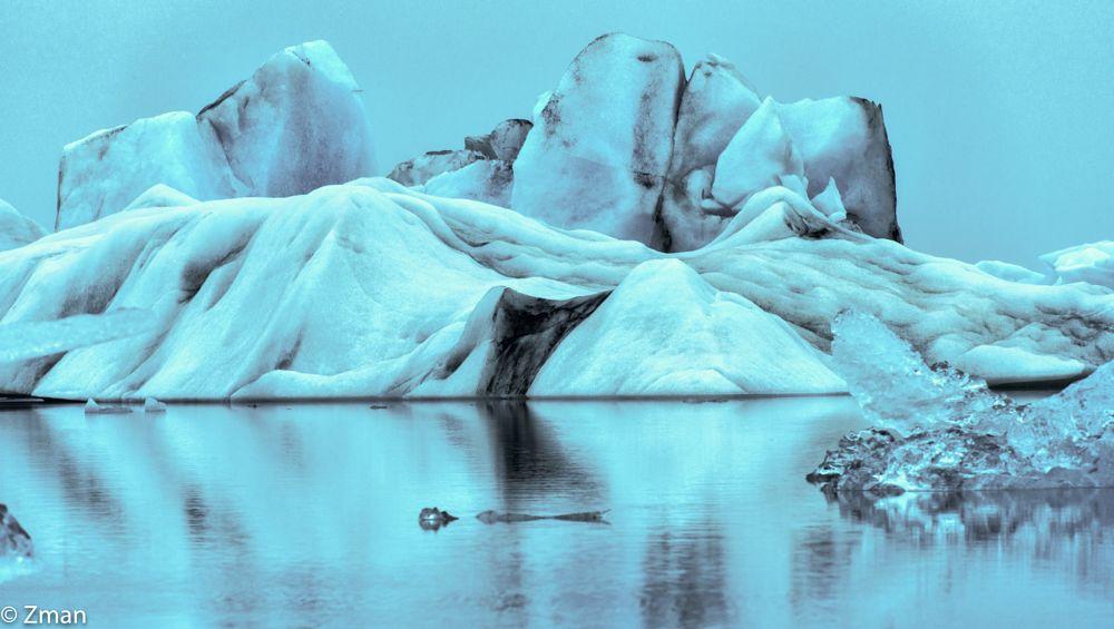 Photo in Landscape #jökulsárlón glacier #ice #lagoon #iceland workshp