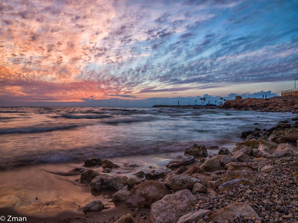 Photo in Landscape #sunset #sea #rocks #white sands #beach