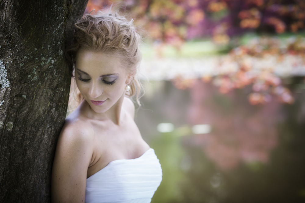 Photo in Portrait #bride #wedding #beautiful #blond