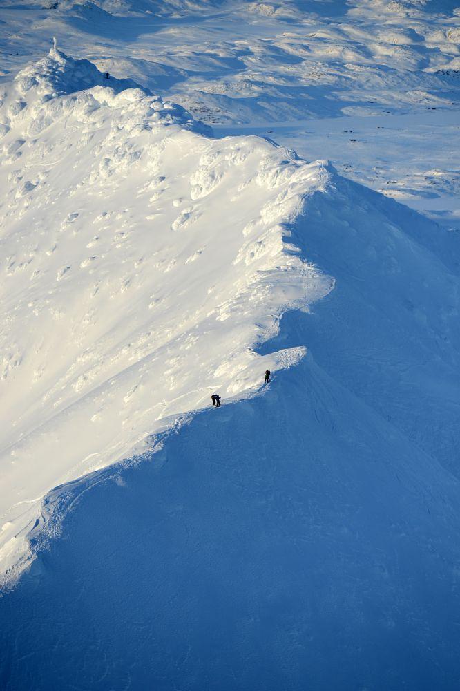 Photo in Nature #gaustatoppen #norge #norgesarkivet #norway #snow #skiing #winter