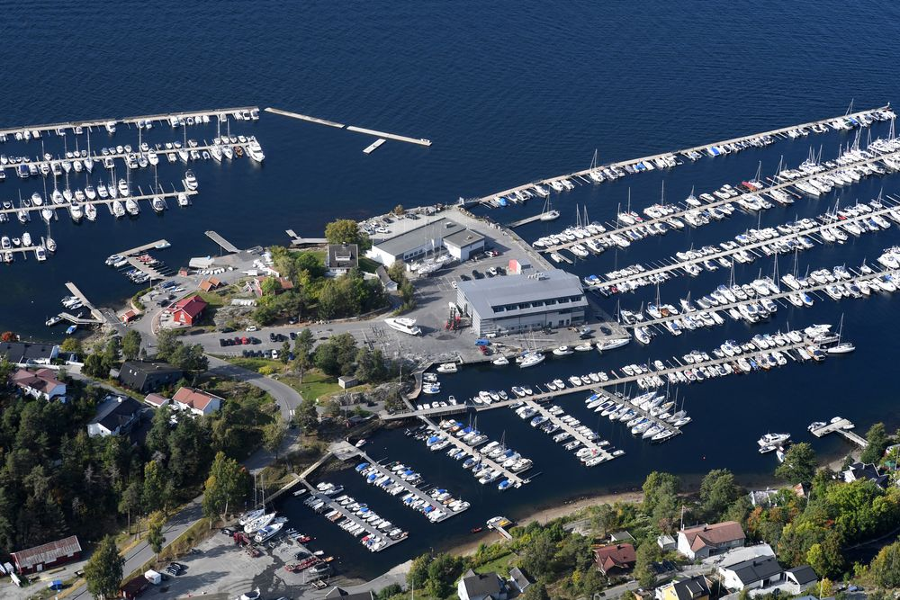 Photo in Aerial #drøbak #norway #norgesarkivet