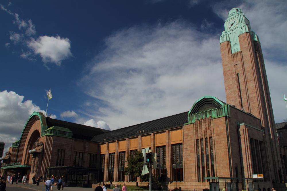 Photo in Architecture #helsinki #station #railway
