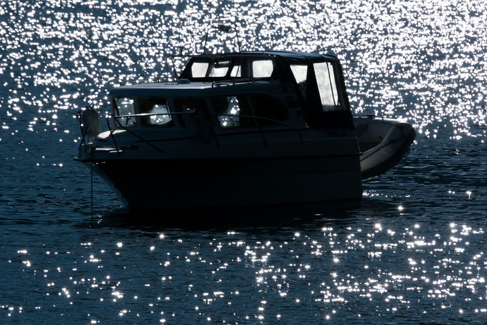 Photo in Sea and Sand #happiness #summer #vacation #nikkeby #697° north #island #sea #boat #sun #sparkling #laukøya
