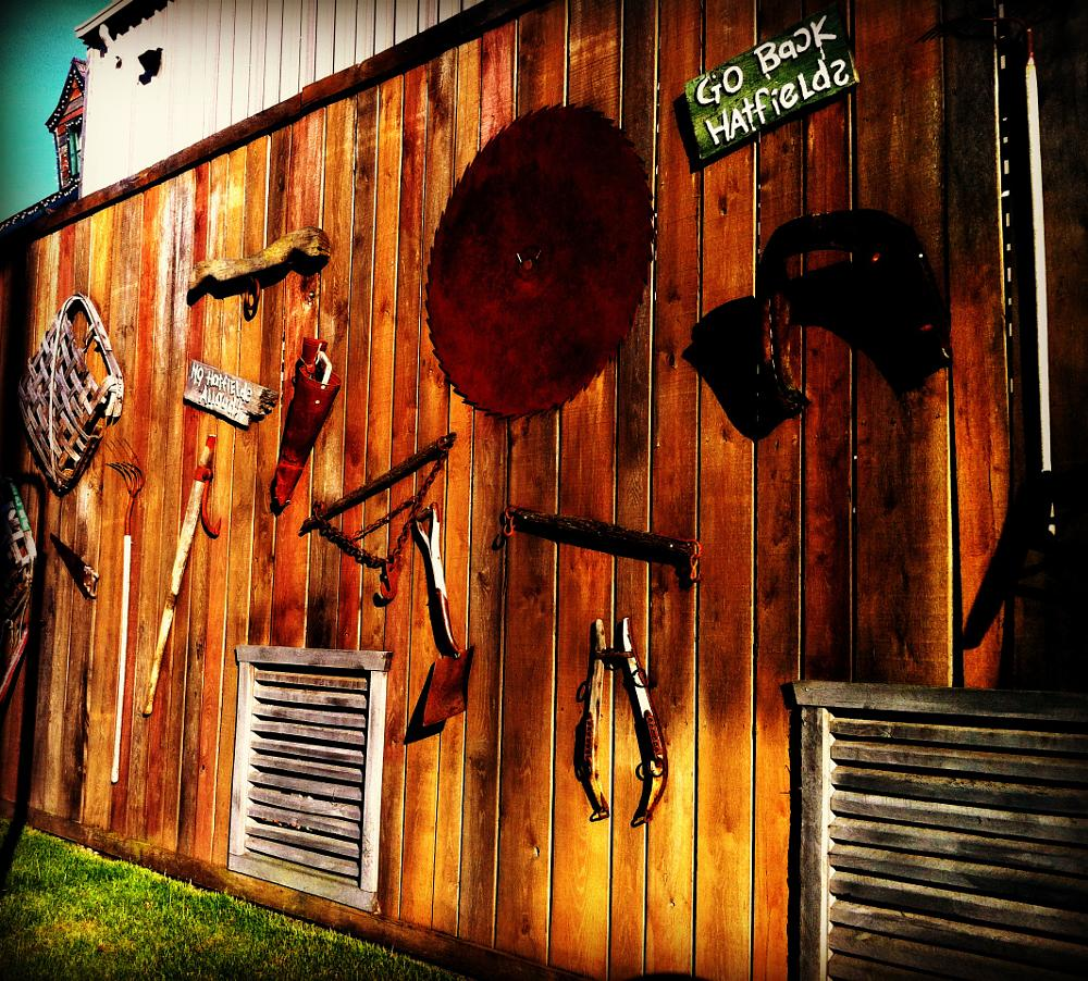 Photo in Still Life #antiques #saw #blade #rake