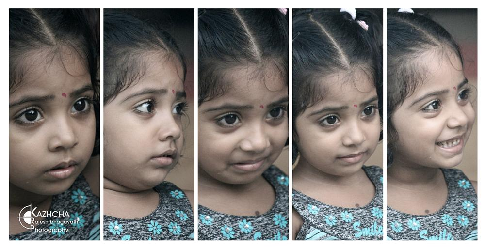 Photo in People #different face expressions #kerala #india #people #kid #kids #babe