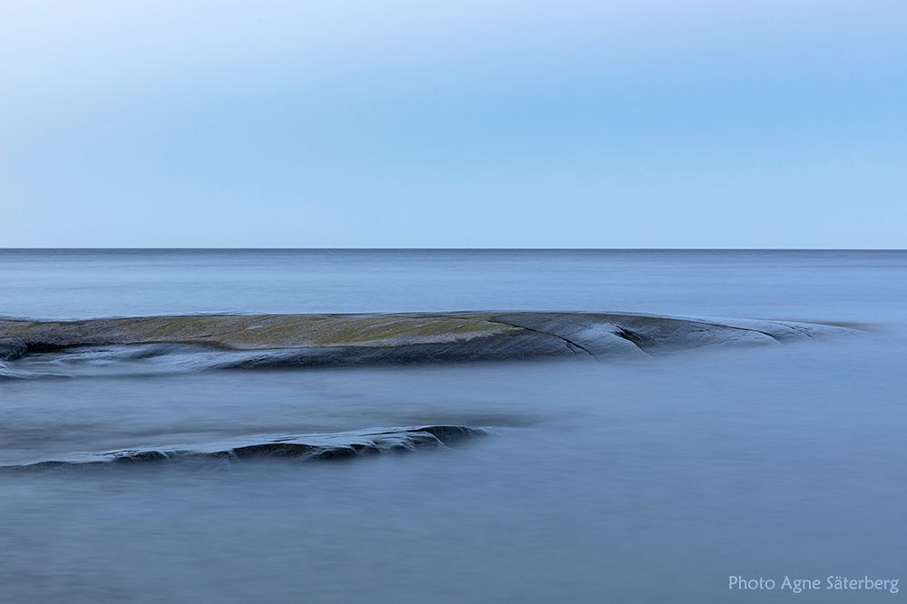 Photo in Landscape #summer #nights #sweden #agne säterberg #sea #coast #world heritage