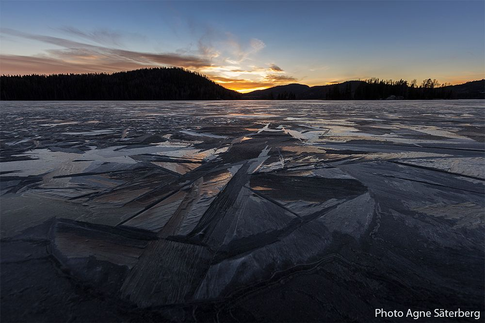 Photo in Nature #winter #ice #sweden #world heritage #agne säterberg