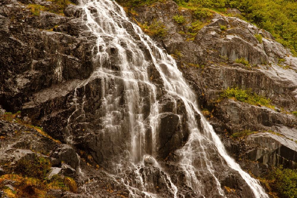 Photo in Landscape #waterfall #alaska