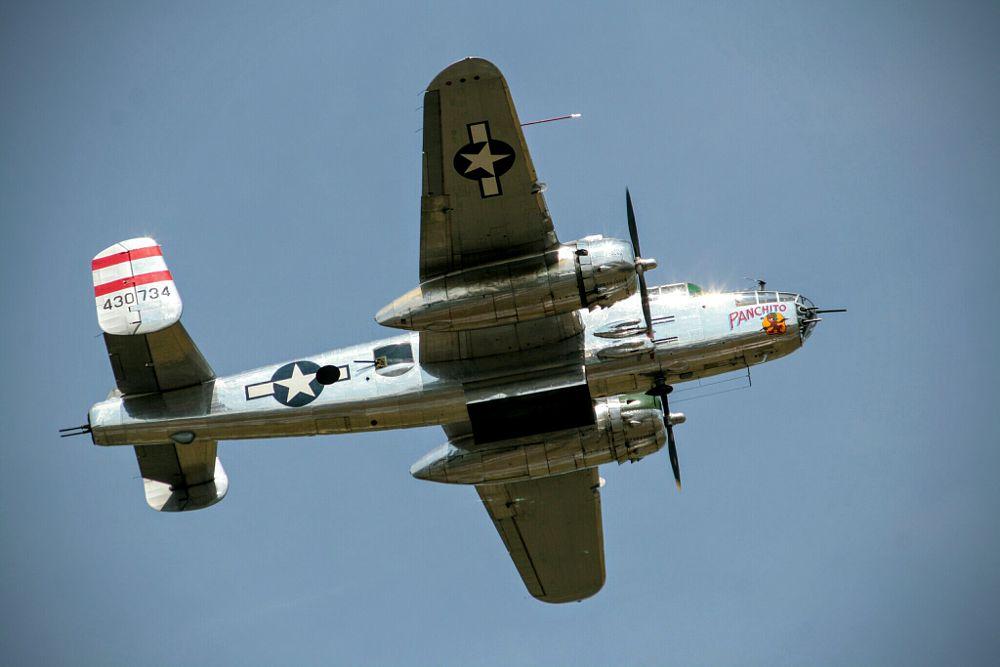 Photo in Random #bomber #b25 #plane