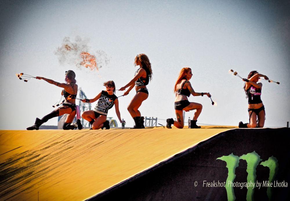 Photo in Sports #ken block #gymkhana #fuel girls #vienna #wien #scs #monster #monster energy #fire
