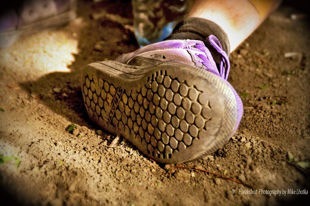 Photo in Product #shoe #earth #sneaker #dirt #dust
