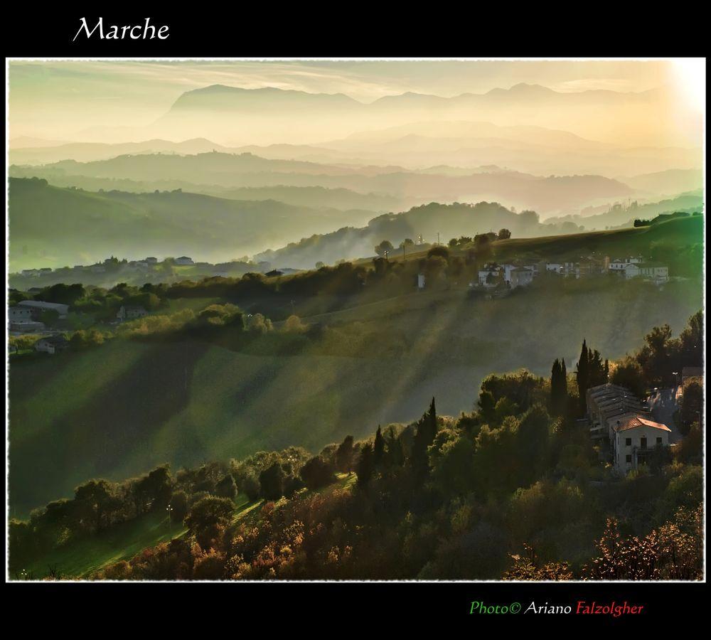 Photo in Landscape #provincia di fermo #marche #paesaggio marchigiano