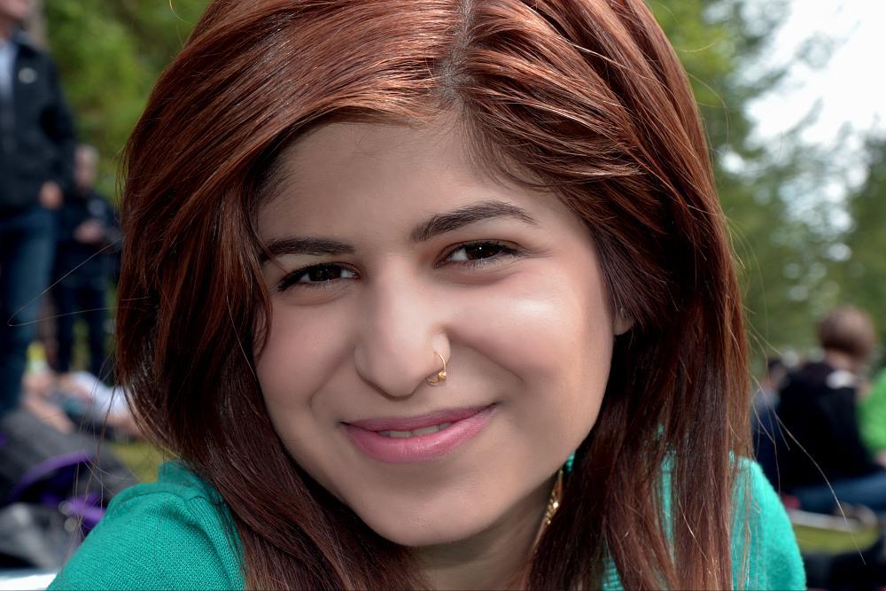 Photo in Portrait #smile #girl #redhead #cute