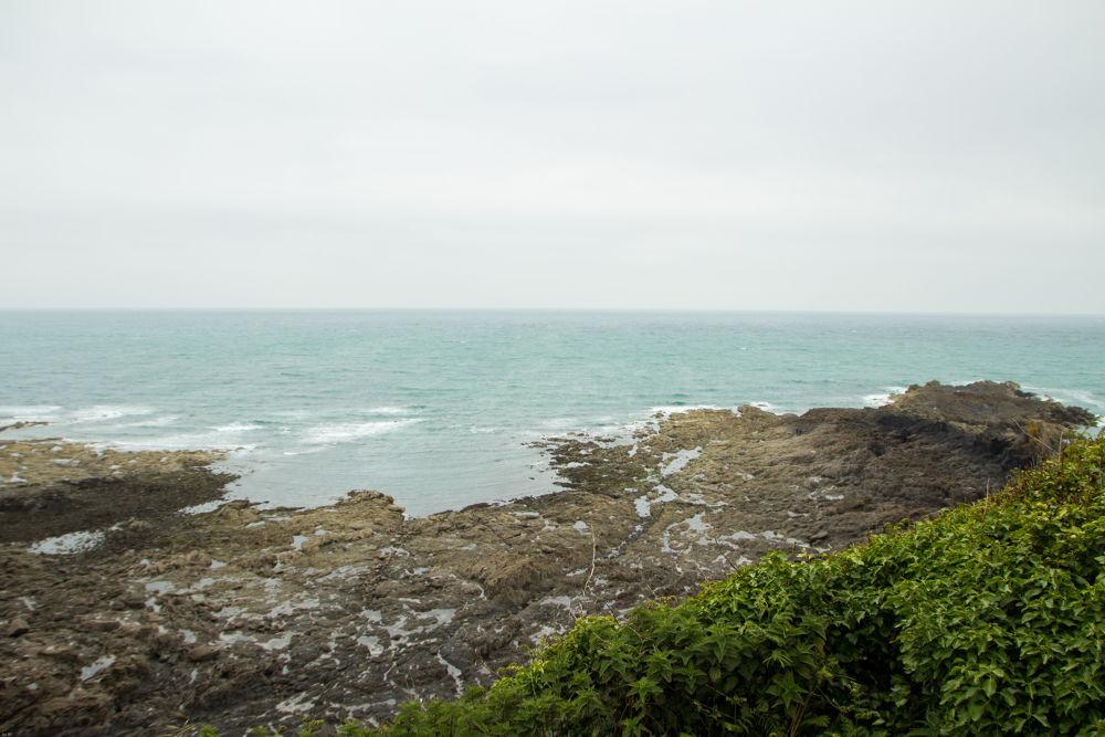 Photo in Landscape #sea #blue #green #stone