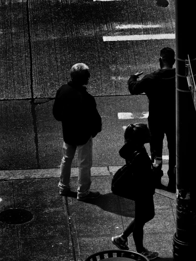 Photo in Street Photography #street photography #people #seattle #gary rea #black & white