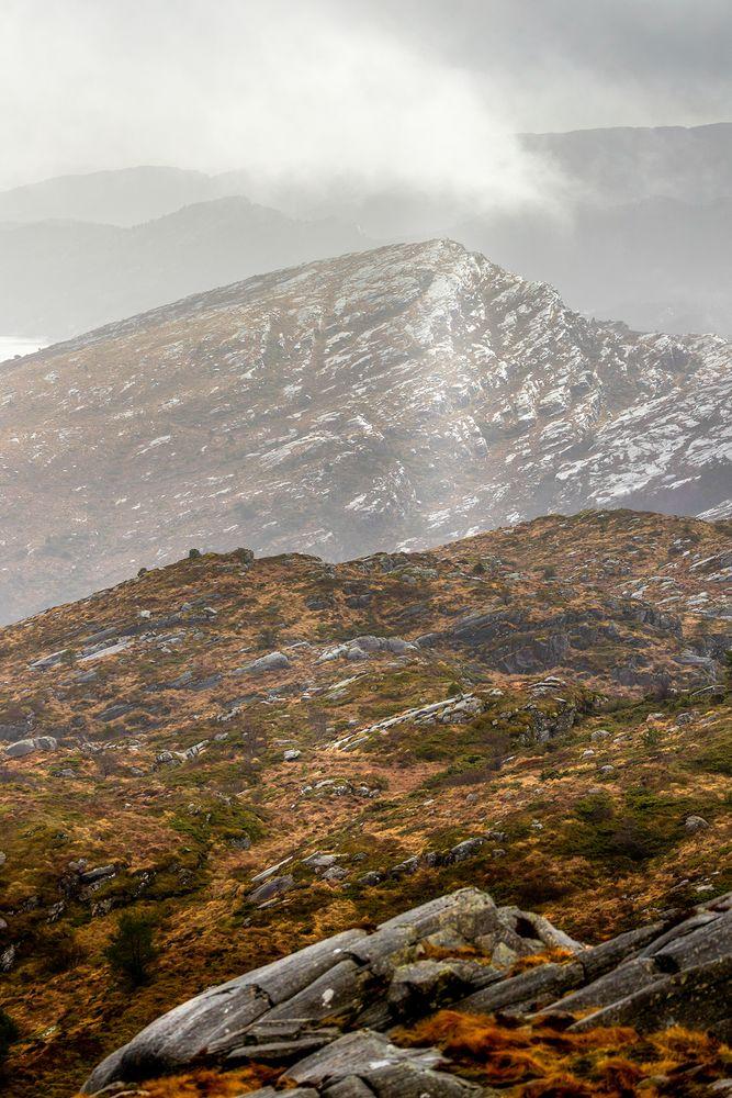 Photo in Landscape #landscape #mountain #nature #rainyday