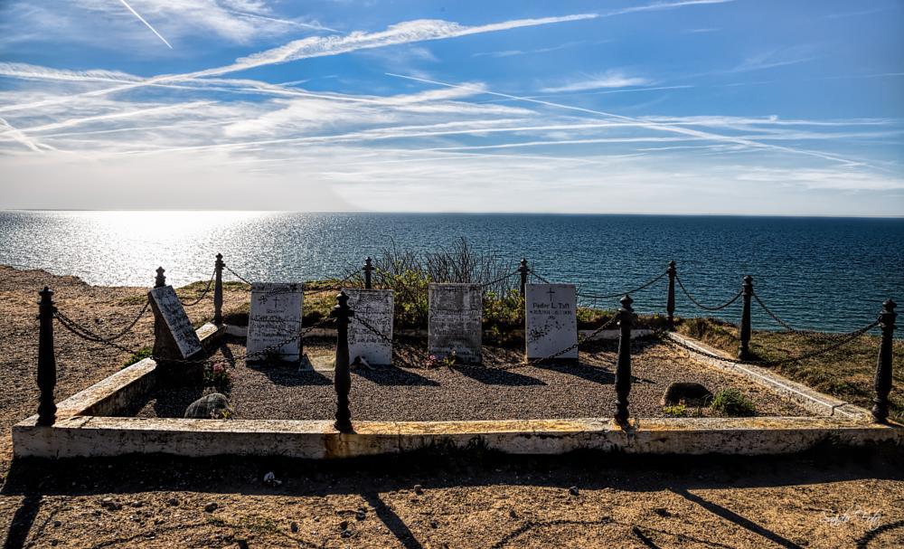 Photo in Travel #lønstrup denmark #graveyard #denmark