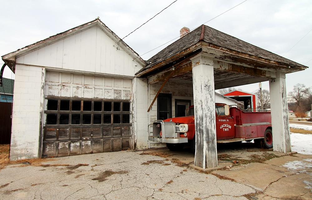 Photo in Vehicle #fire #truck #gas #station #iowa