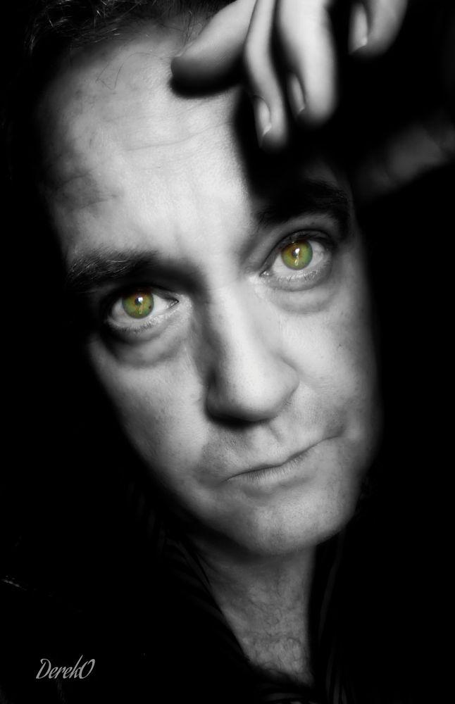 Photo in Black and White #dereko #derek oliver #selfie #art #me