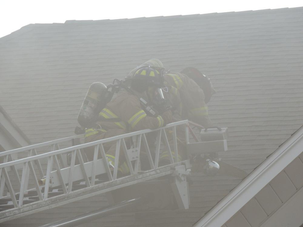 Photo in Random #aerial #fire #firefighting