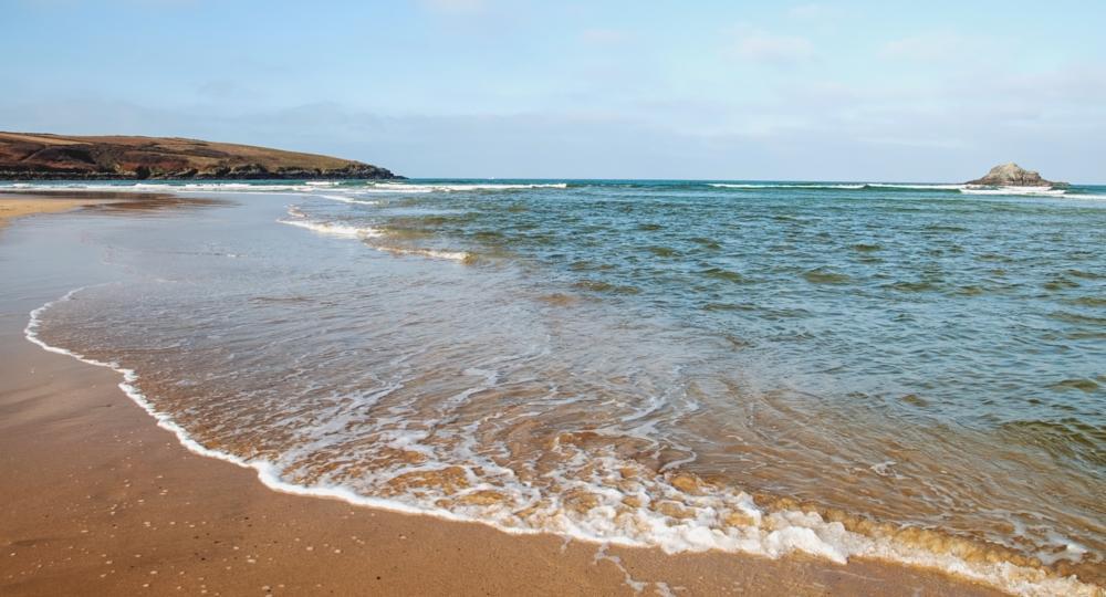 Photo in Landscape #beach #sand #sea #sky #blue #cloud #rocks