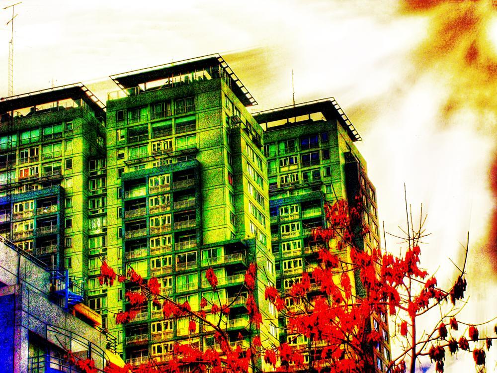Photo in Urban #argentina #buenos aires #building #palermo #skyline