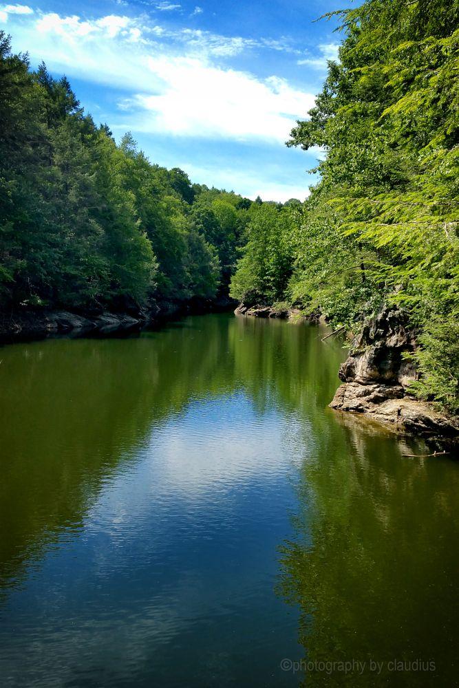 Photo in Landscape #saugatuck river #reflections #river