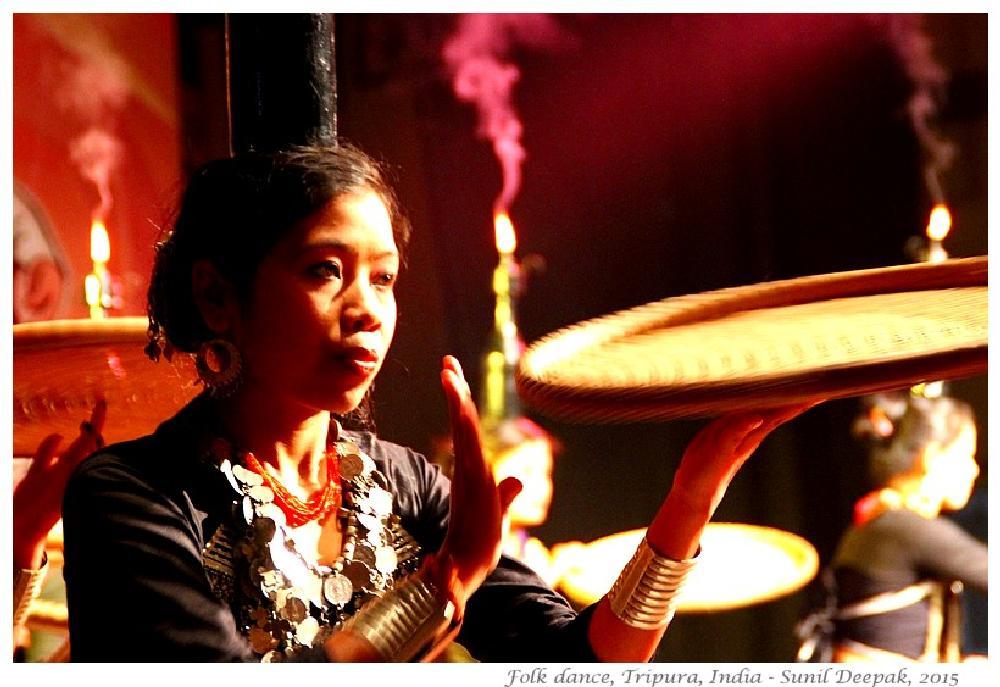 Photo in Portrait #india #tripura #dance #culture