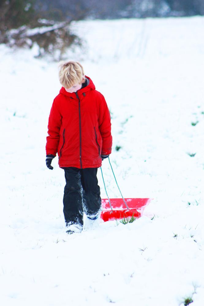 Photo in People #snow #portrait #people