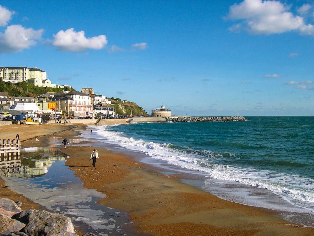 Photo in Landscape #beach #winter #isle of wight #ventnor #england