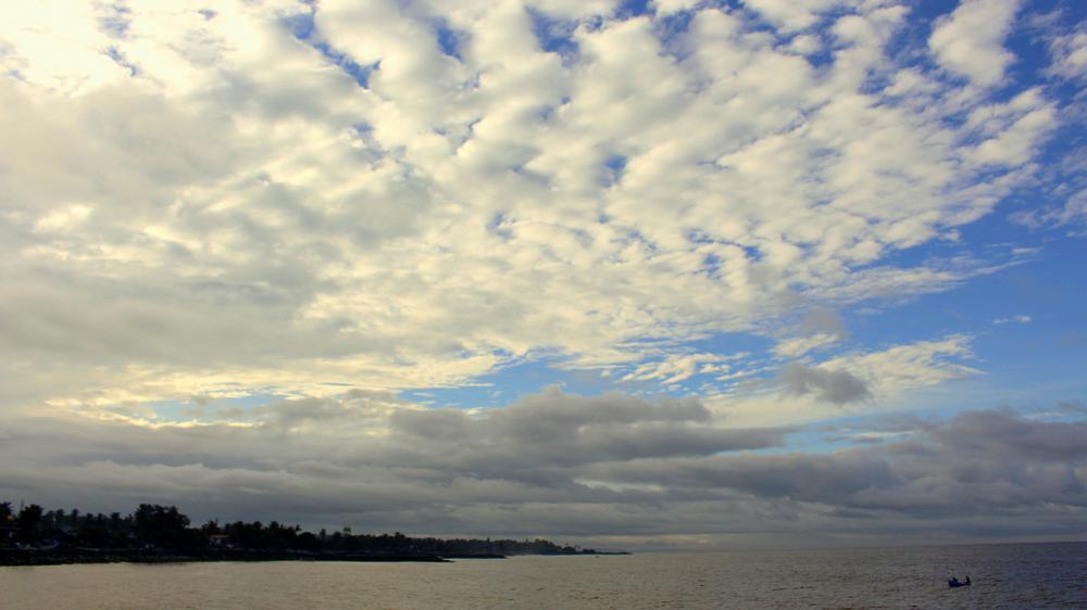 Photo in Still Life #boat #sky #sea #minimalism #lowlight #landscape #storm