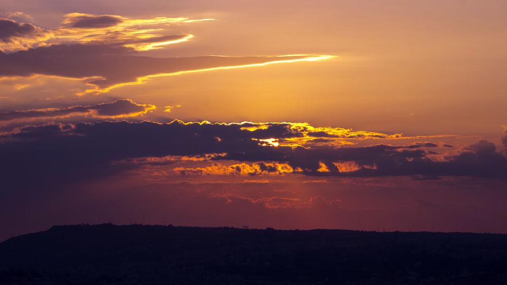 Photo in Nature #sunset #sun