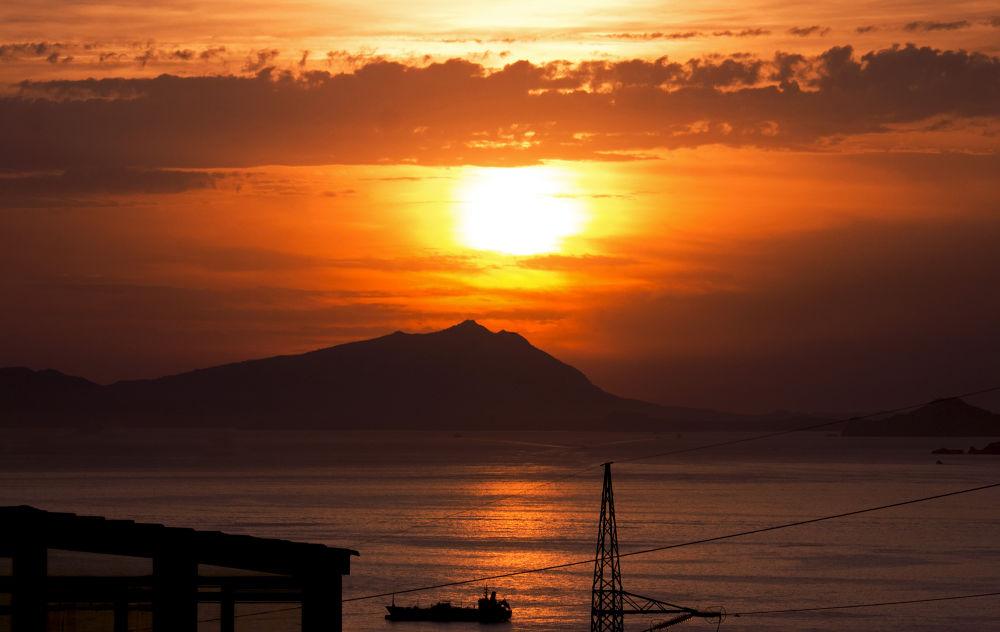 Photo in Landscape #ischia #napoli #landscape #sunset