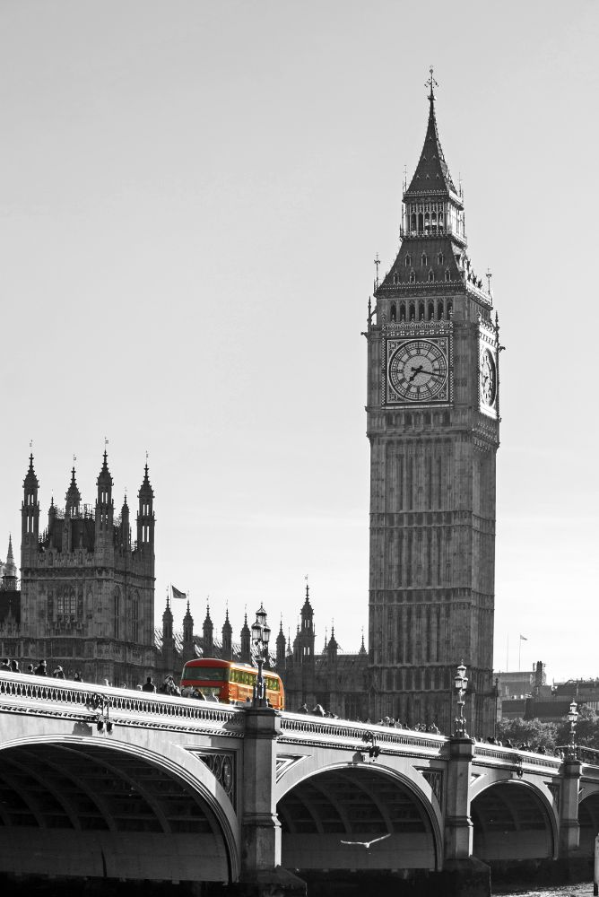 Photo in Travel #london #big ben #westminster #bus #red #city #gf3