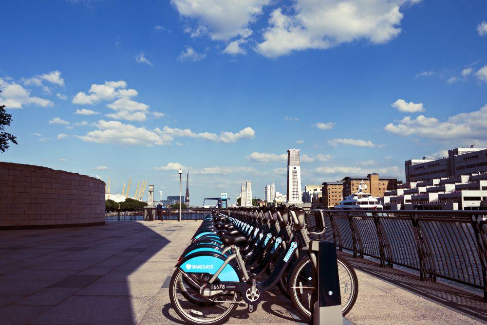 Photo in Urban #london #canary #wharf #gf3 #bicycle