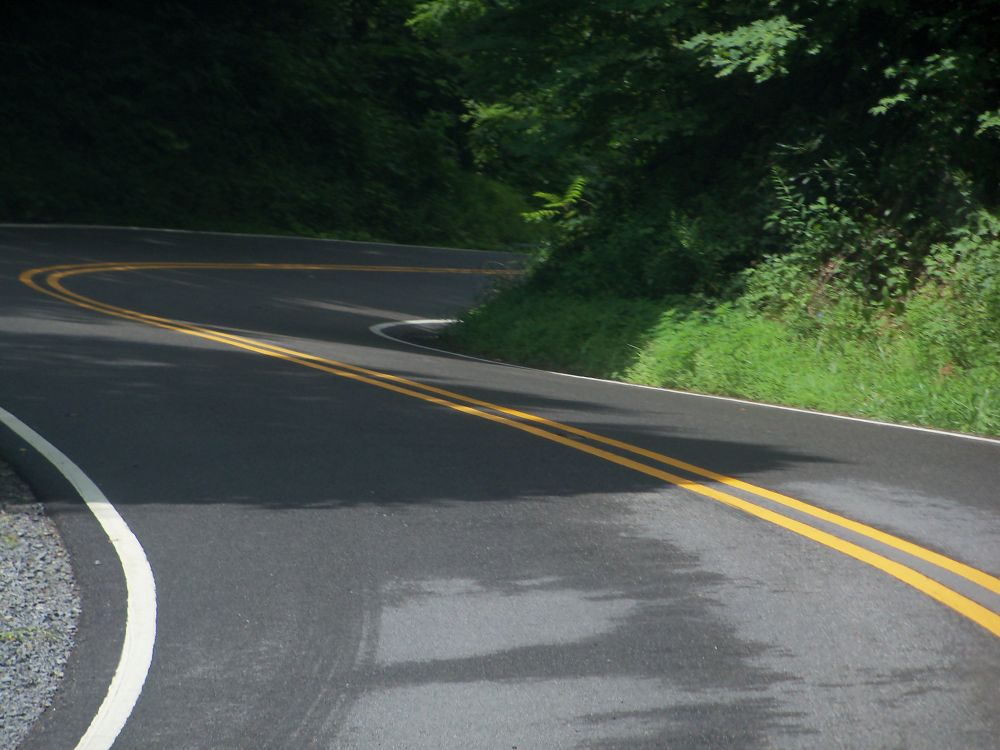 Photo in Landscape #ypa2013 #road #mountain #curve