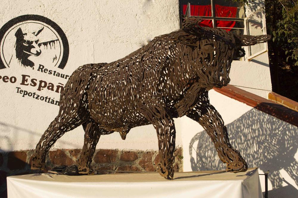 Photo in Fine Art #toro #hierro #bull