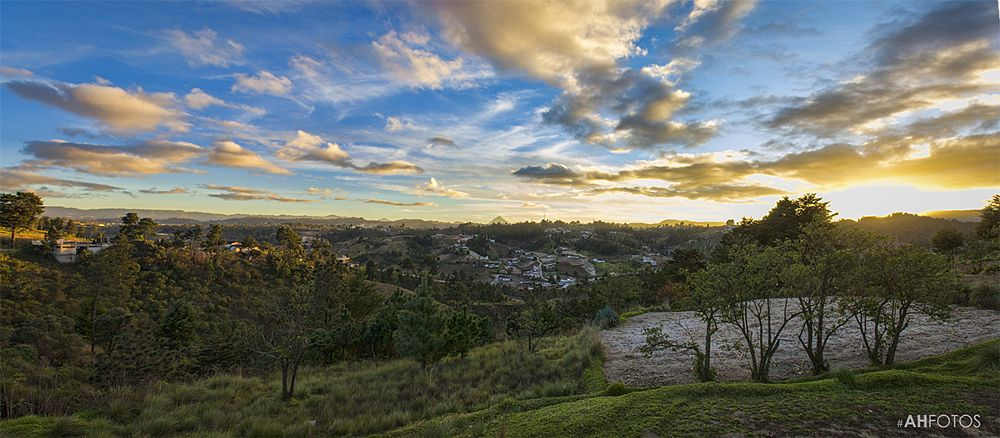 Photo in Landscape #morning #trip #travel #landscape #nature #guatemala #ahfotos #panoramic #hdr