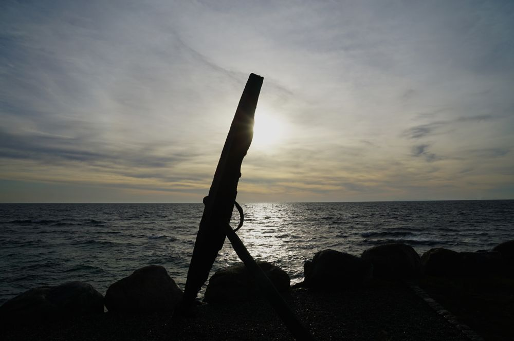 Photo in Nature #seascape #anchor #water #sea #sun