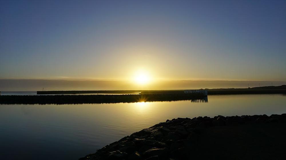 Photo in Landscape #sunrise #sunreflection #sonyphotography