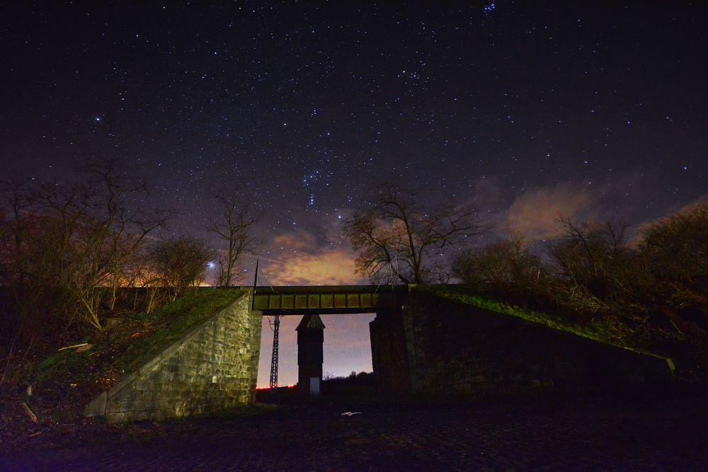 Photo in Landscape #baalberge #stargate #sternennacht