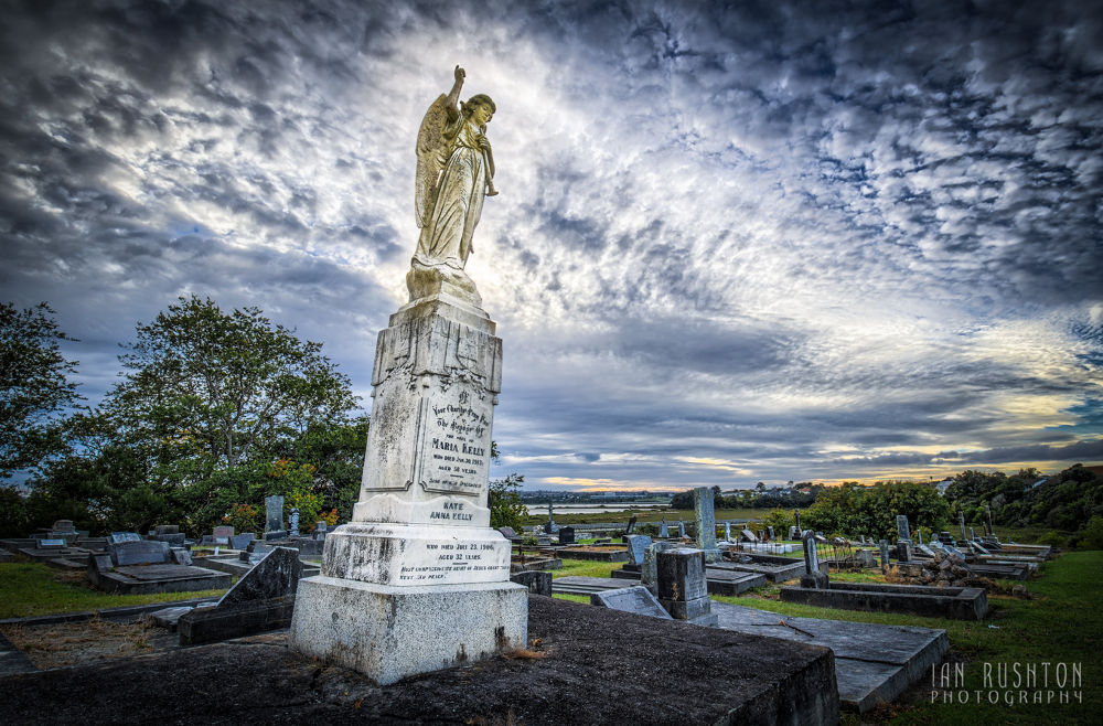 Photo in Random #cemetery #auckland #graveyard #tombstone #hdr