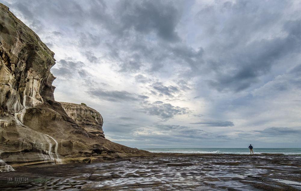Photo in Landscape #muriwai #solitude #sea #surf #auckland #new zealand
