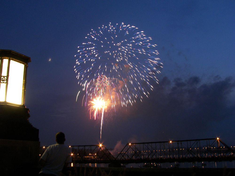 Photo in Random #fireworks #4th of jul #harrisburg riverfront
