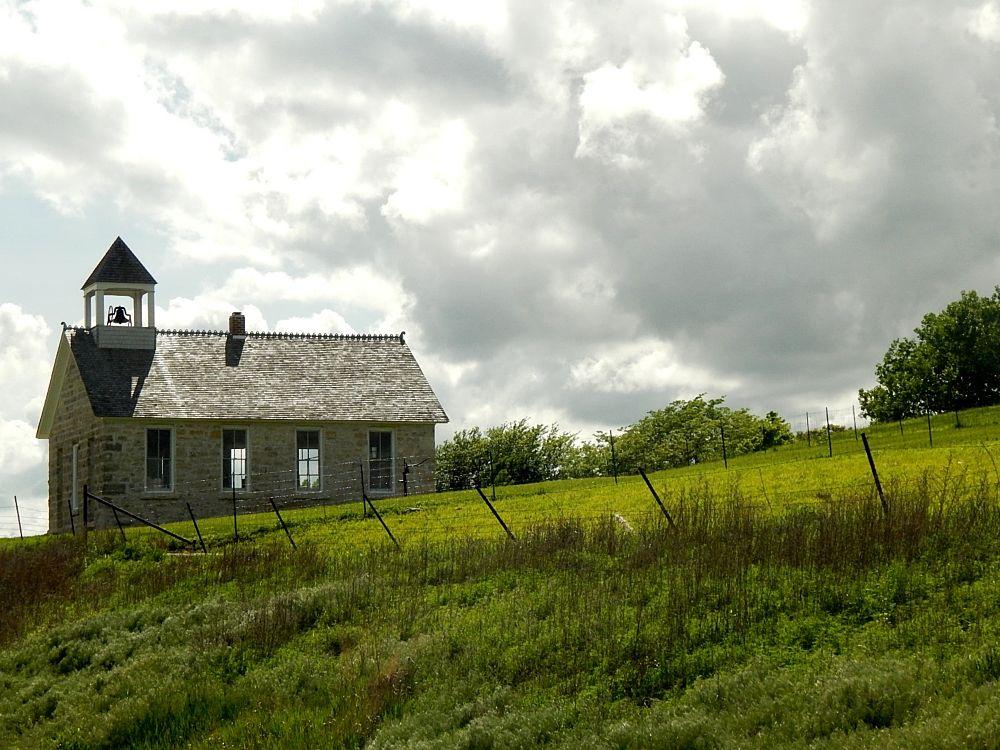 Photo in Rural #restored #greengrass #clouds