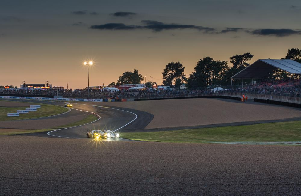 Photo in Sports #france #le mans #24 hours of le mans #sunset #motorsport #race car