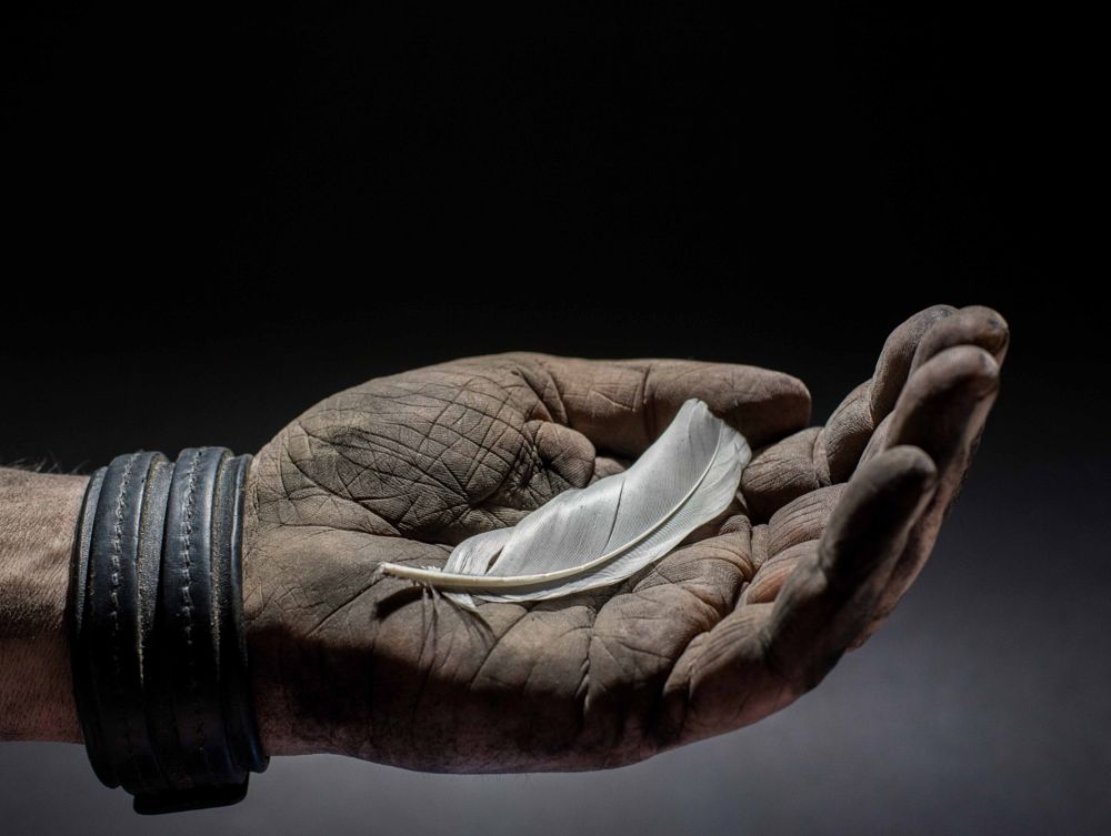 Photo in Fine Art #humility #hand #strong