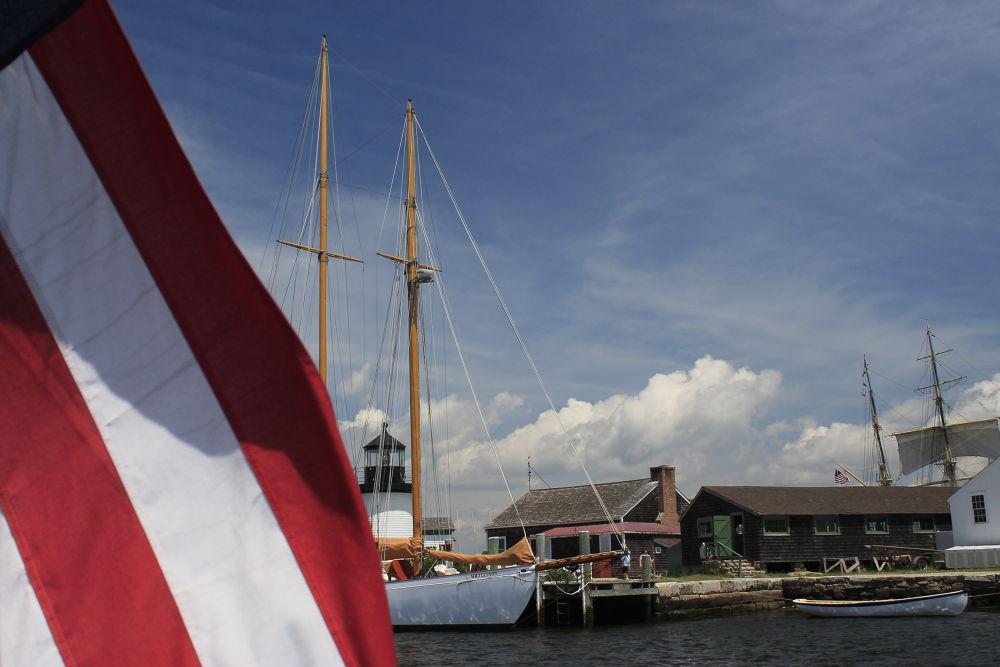 Photo in Landscape #flag #boat
